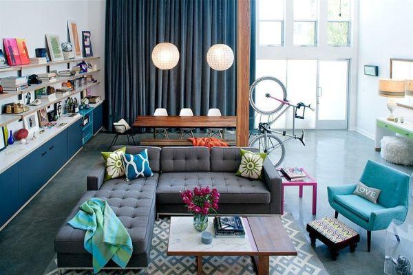 Khám phá căn hộ được bài trí tuyệt đẹp với gam màu xanh lam 1