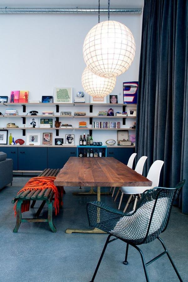 Khám phá căn hộ được bài trí tuyệt đẹp với gam màu xanh lam 3