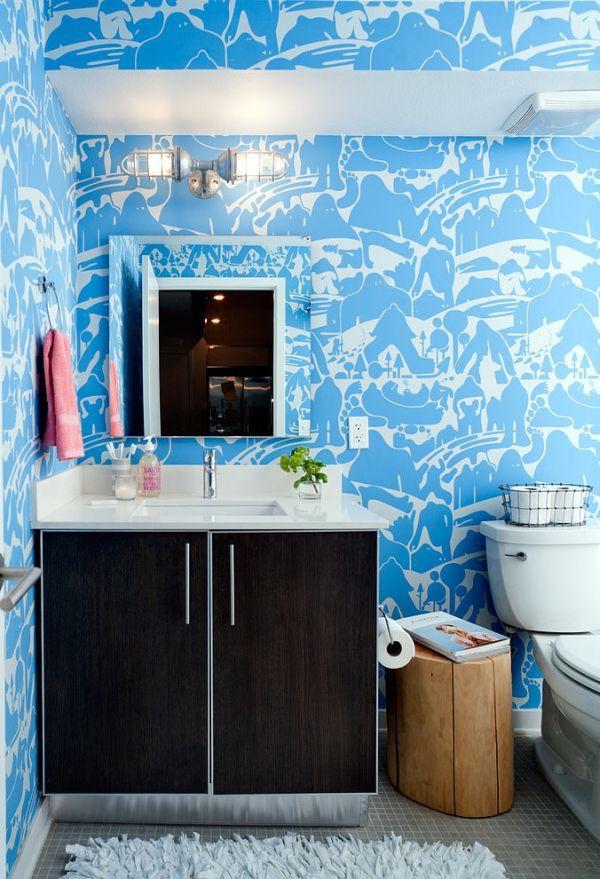 Khám phá căn hộ được bài trí tuyệt đẹp với gam màu xanh lam 6