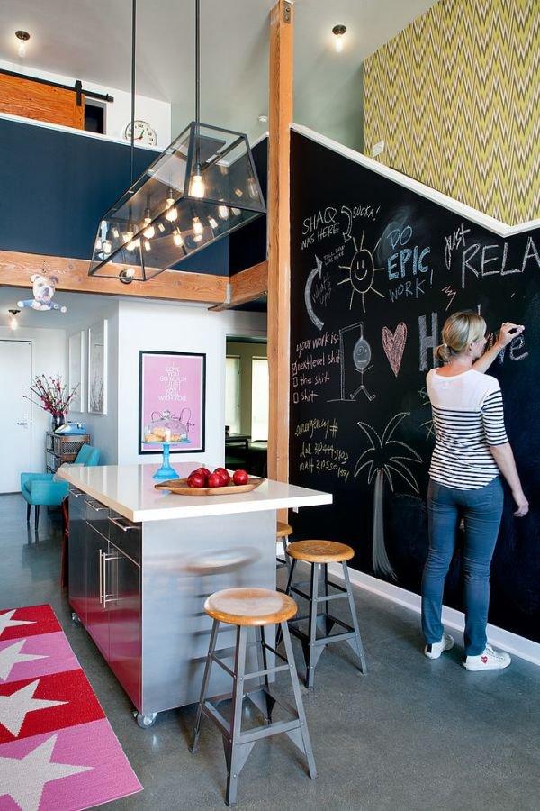 Khám phá căn hộ được bài trí tuyệt đẹp với gam màu xanh lam 4