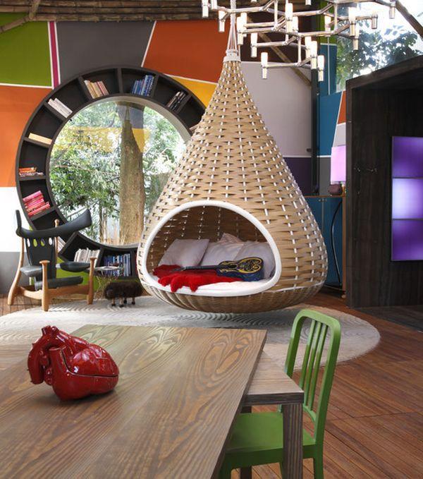 Ghế treo – món nội thất độc đáo giúp nhà thêm xinh 7