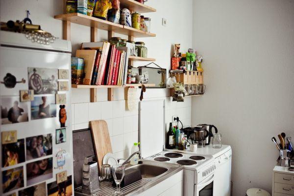 4 giải pháp lưu trữ cho phòng bếp nhỏ 11