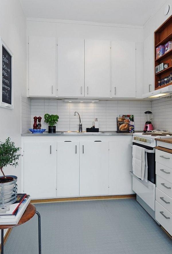4 giải pháp lưu trữ cho phòng bếp nhỏ 1