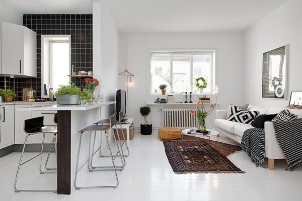 Ghé thăm căn hộ 41m² trắng sáng mà không đơn điệu 8