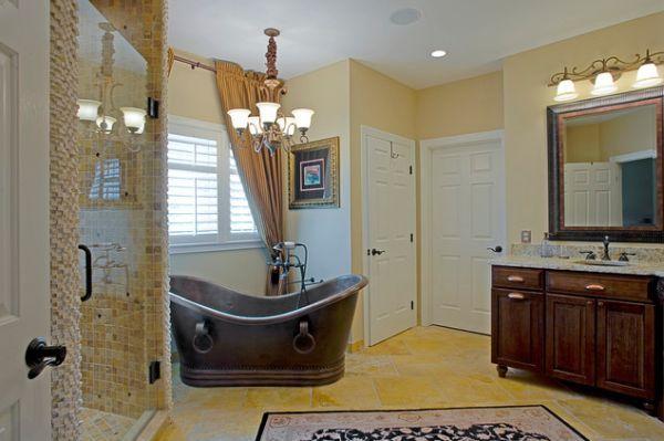 Phòng tắm sáng bừng với 5 mẫu bồn tắm độc đáo 5