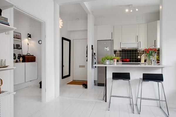 Ghé thăm căn hộ 41m² trắng sáng mà không đơn điệu 1