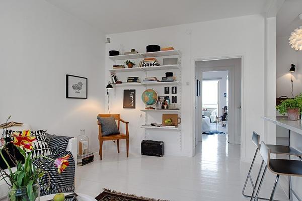 Ghé thăm căn hộ 41m² trắng sáng mà không đơn điệu 6