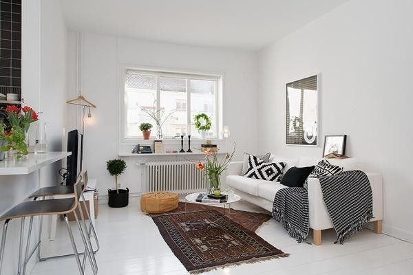 Ghé thăm căn hộ 41m² trắng sáng mà không đơn điệu 2