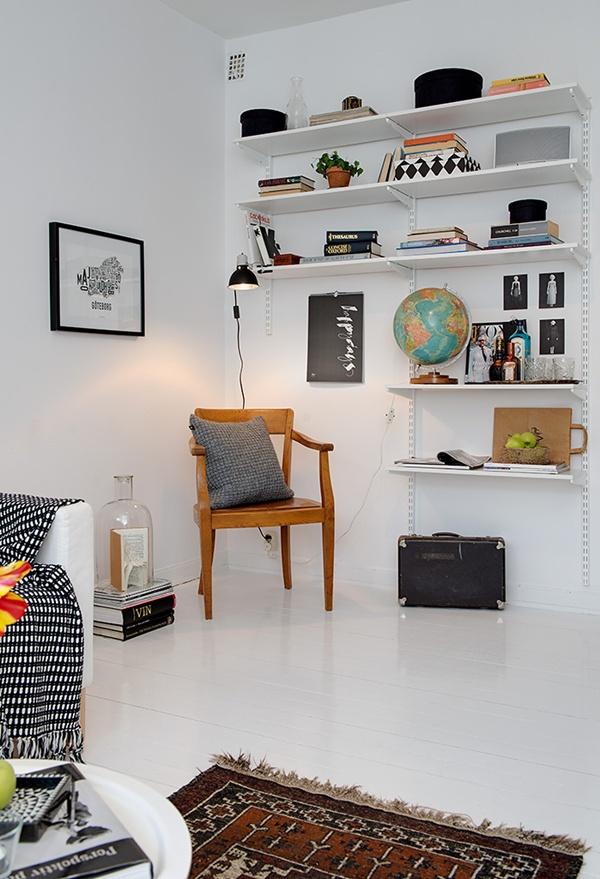 Ghé thăm căn hộ 41m² trắng sáng mà không đơn điệu 7