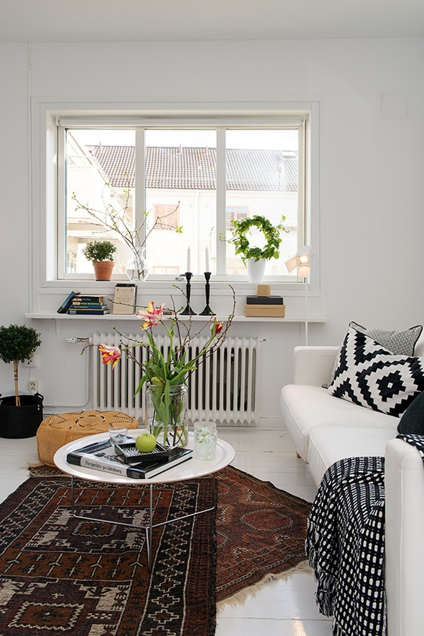 Ghé thăm căn hộ 41m² trắng sáng mà không đơn điệu 4