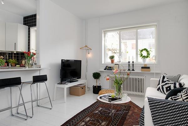 Ghé thăm căn hộ 41m² trắng sáng mà không đơn điệu 5