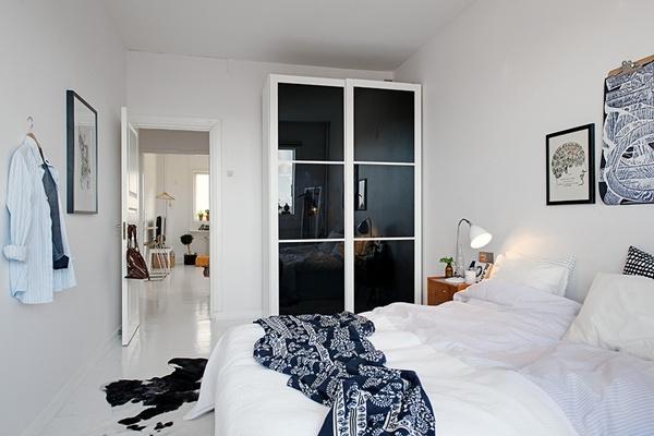 Ghé thăm căn hộ 41m² trắng sáng mà không đơn điệu 13