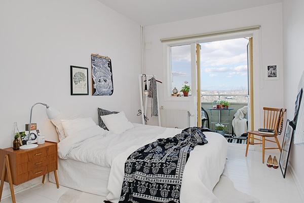 Ghé thăm căn hộ 41m² trắng sáng mà không đơn điệu 12
