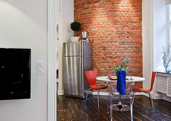 Căn hộ 33m² tiện nghi nhờ bài trí nội thất 9