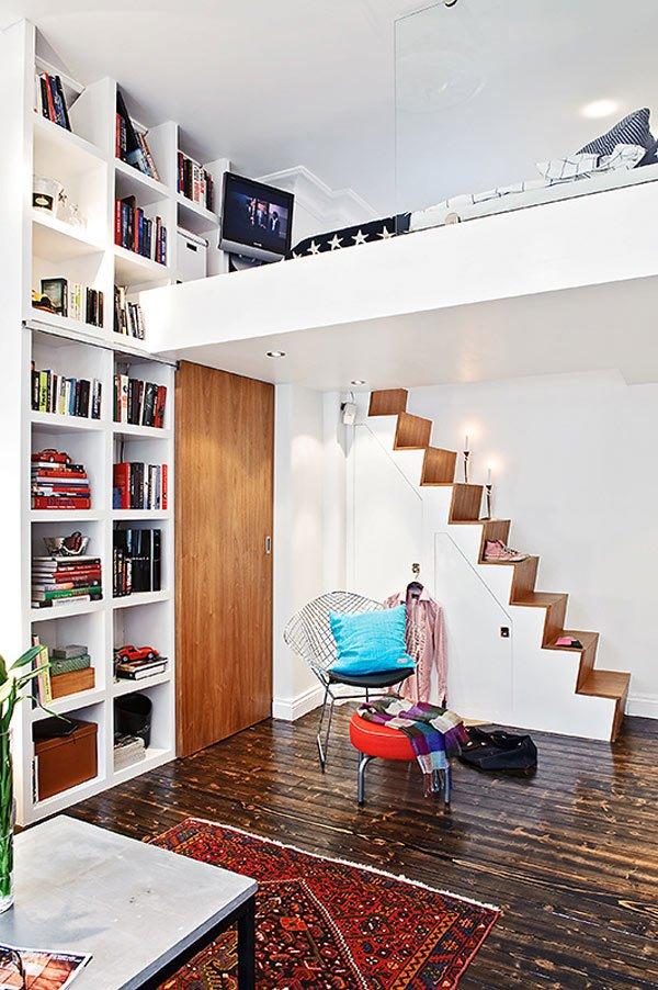 Căn hộ 33m² tiện nghi nhờ bài trí nội thất 3
