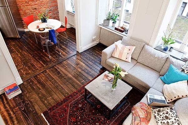 Căn hộ 33m² tiện nghi nhờ bài trí nội thất 1