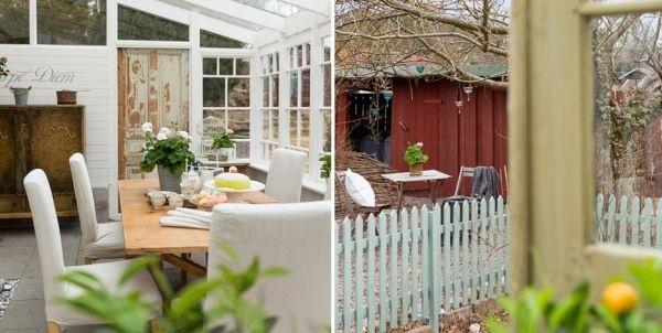 Ngắm ngôi nhà lãng mạn với tông màu trắng - xanh 2