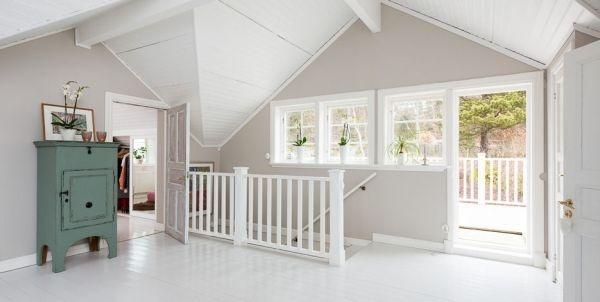Ngắm ngôi nhà lãng mạn với tông màu trắng - xanh 1