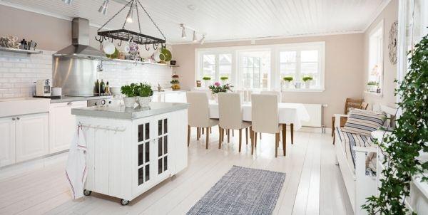 Ngắm ngôi nhà lãng mạn với tông màu trắng - xanh 9