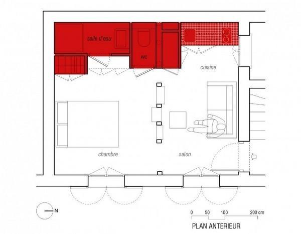 Chiêm ngưỡng 3 căn hộ rực rỡ có diện tích dưới 40m² 1
