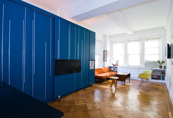 Chiêm ngưỡng 3 căn hộ rực rỡ có diện tích dưới 40m² 9