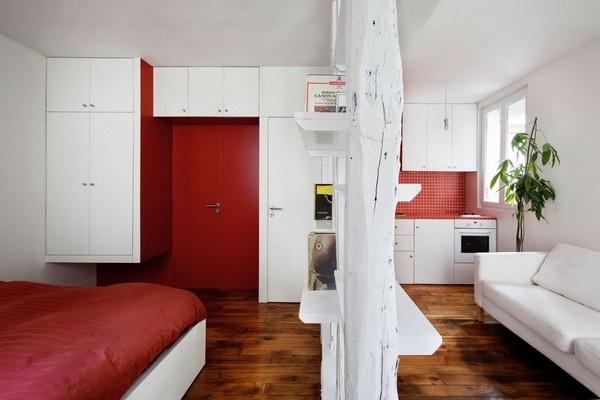 Chiêm ngưỡng 3 căn hộ rực rỡ có diện tích dưới 40m² 2