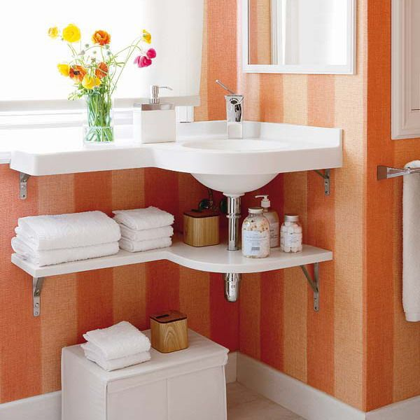 5 loại kệ lưu trữ khăn tiện dụng trong phòng tắm 3