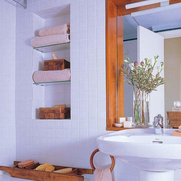 5 loại kệ lưu trữ khăn tiện dụng trong phòng tắm 12