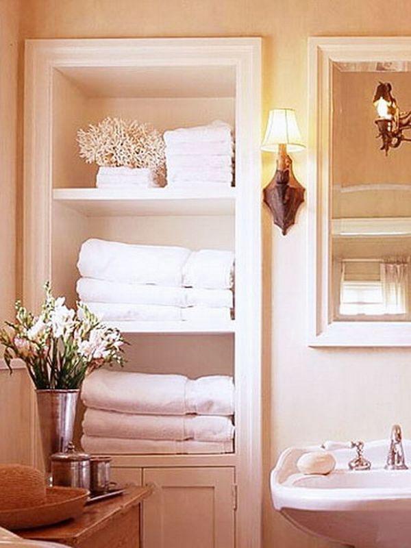5 loại kệ lưu trữ khăn tiện dụng trong phòng tắm 13