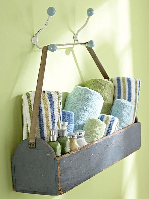 5 loại kệ lưu trữ khăn tiện dụng trong phòng tắm 17