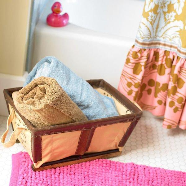 5 loại kệ lưu trữ khăn tiện dụng trong phòng tắm 16