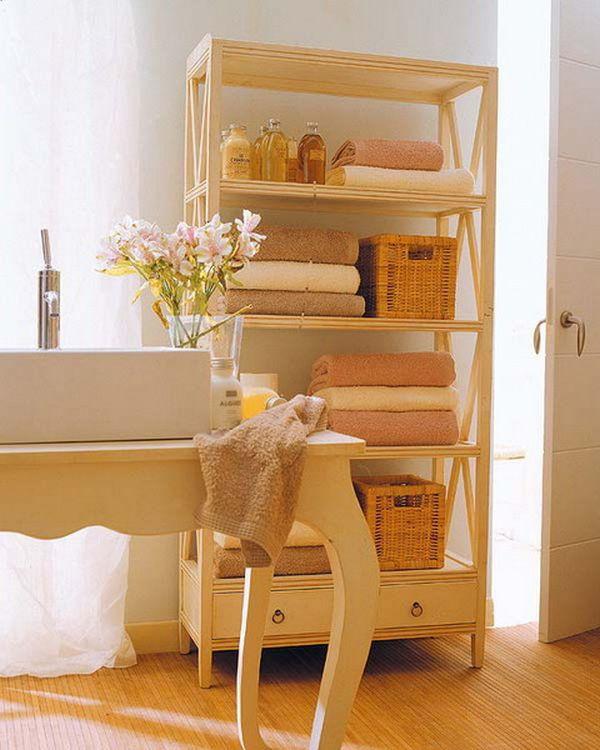 5 loại kệ lưu trữ khăn tiện dụng trong phòng tắm 5