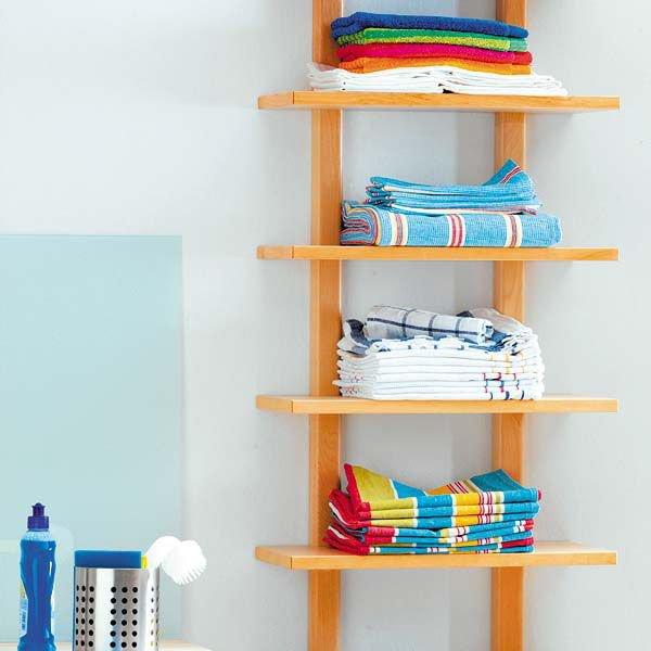 5 loại kệ lưu trữ khăn tiện dụng trong phòng tắm 9