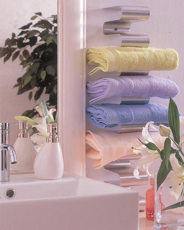 5 loại kệ lưu trữ khăn tiện dụng trong phòng tắm 10