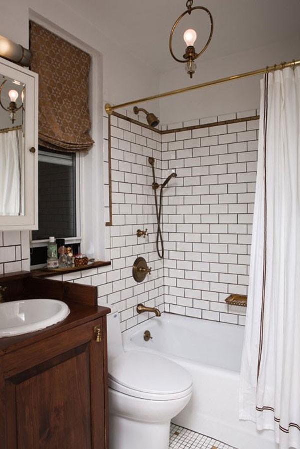 Mẹo bài trí đẹp và độc cho phòng tắm nhỏ  4