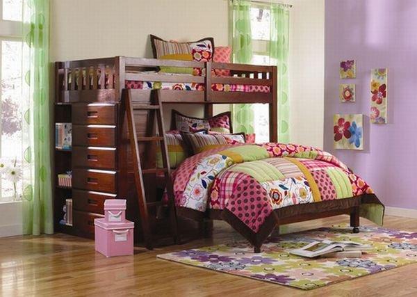 Những mẫu giường ngủ tuyệt hảo cho phòng bé 6
