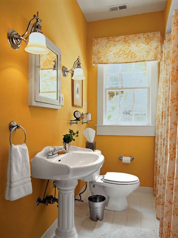 Mẹo bài trí đẹp và độc cho phòng tắm nhỏ  2