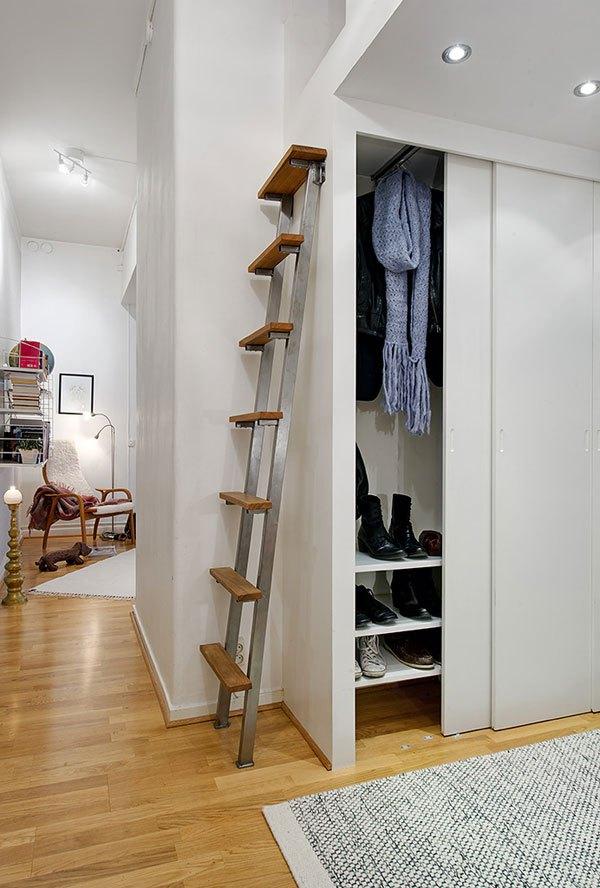 Căn hộ 56m² hai phòng ngủ tuyệt đẹp nhờ khéo bài trí 15
