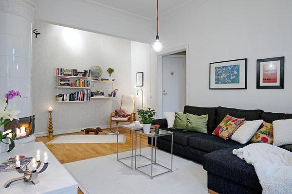 Căn hộ 56m² hai phòng ngủ tuyệt đẹp nhờ khéo bài trí 3