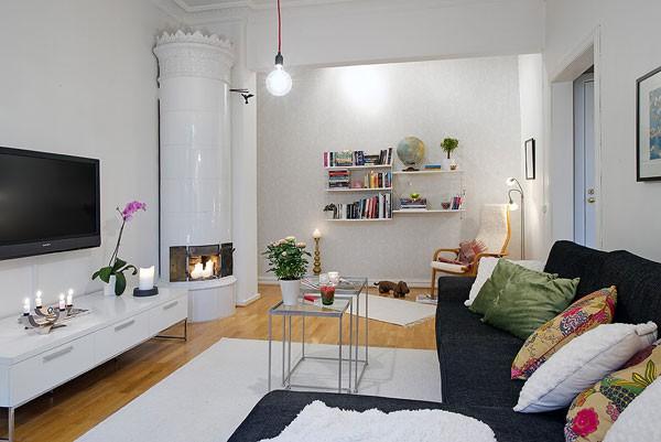 Căn hộ 56m² hai phòng ngủ tuyệt đẹp nhờ khéo bài trí 4