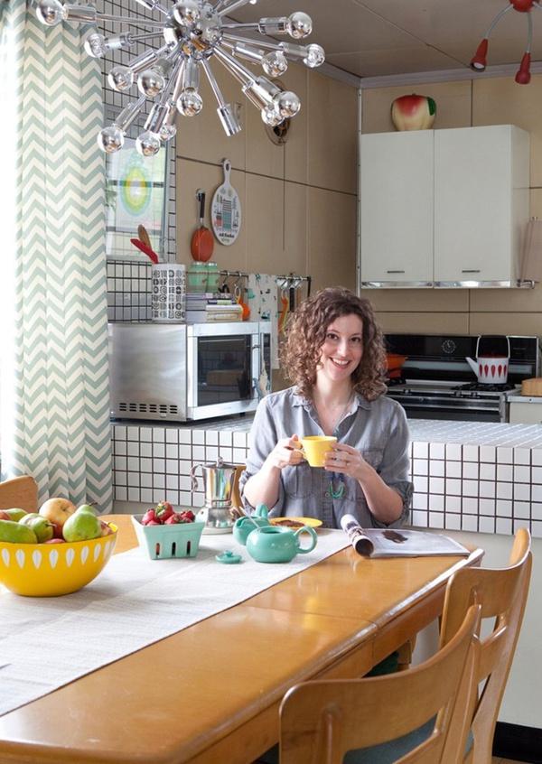 Ngắm căn bếp trong mơ theo phong cách vintage 1