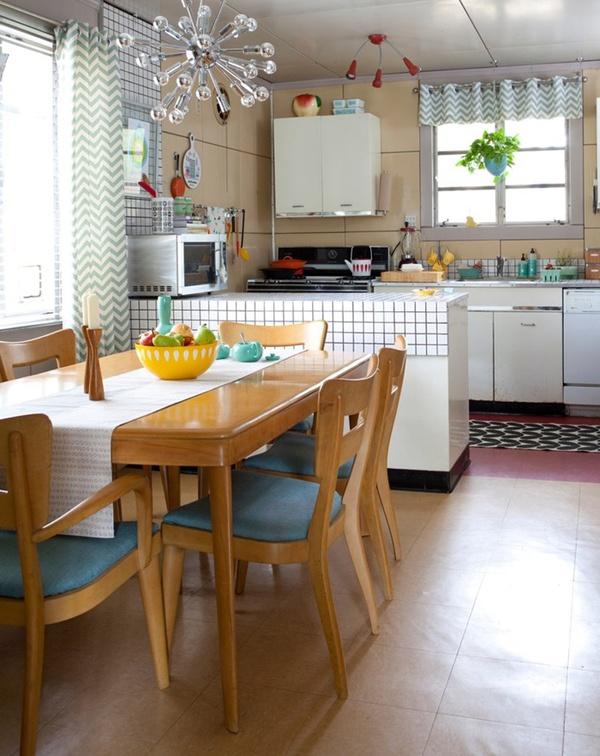 Ngắm căn bếp trong mơ theo phong cách vintage 2
