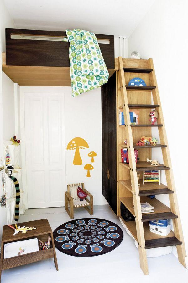 Nới rộng phòng ngủ của trẻ nhờ bài trí nội thất sáng tạo 5