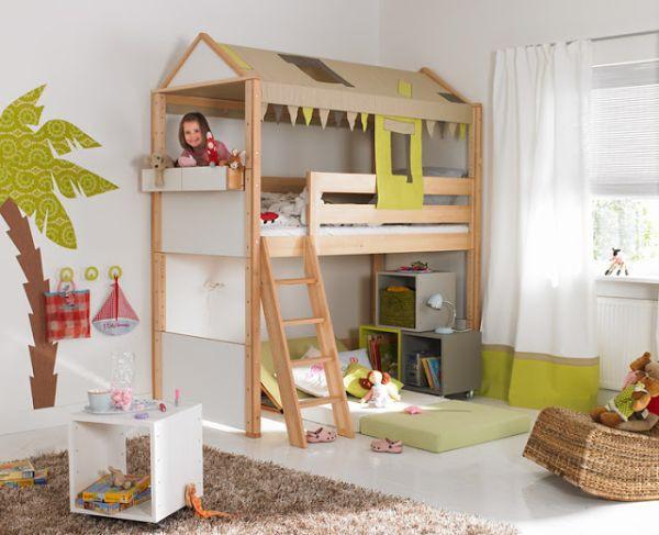 Nới rộng phòng ngủ của trẻ nhờ bài trí nội thất sáng tạo 6