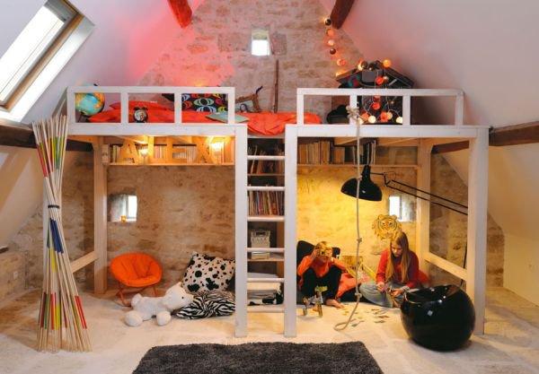 Nới rộng phòng ngủ của trẻ nhờ bài trí nội thất sáng tạo 3