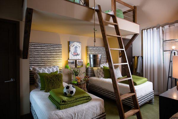 Nới rộng phòng ngủ của trẻ nhờ bài trí nội thất sáng tạo 9