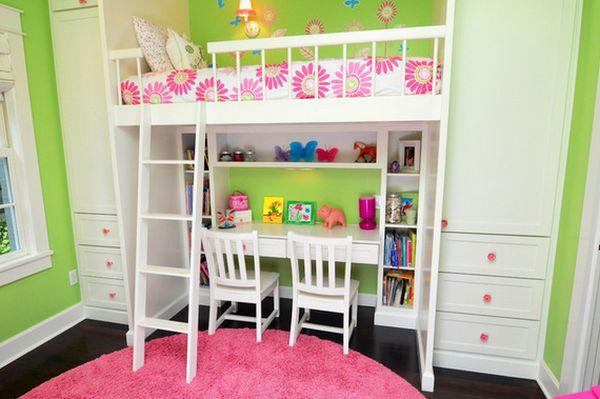 Nới rộng phòng ngủ của trẻ nhờ bài trí nội thất sáng tạo 4