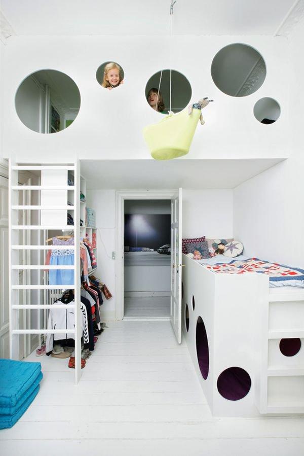 Nới rộng phòng ngủ của trẻ nhờ bài trí nội thất sáng tạo 8