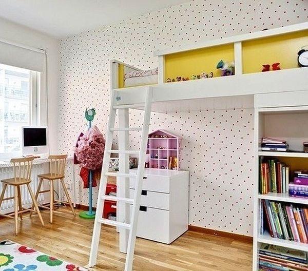 Nới rộng phòng ngủ của trẻ nhờ bài trí nội thất sáng tạo 1