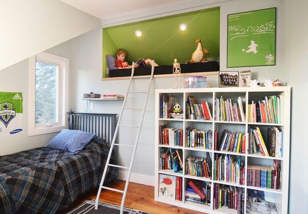 Nới rộng phòng ngủ của trẻ nhờ bài trí nội thất sáng tạo 10